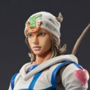 Jojo's Bizarre Adventure part 7 Steel Ball Run: Johnny Joestar Super Action Statue