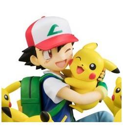 G.E.M Series Pocket Monsters Satoshi & Pikachu (Pikachu ga Ippai ver.) (standard ver.)