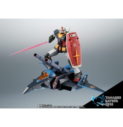 Robot Damashii (side MS) RX-78-2 & G Fighter ver. A.N.I.M.E. Real Type Color